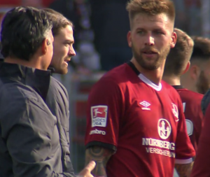 1. FC Nürnberg - Hannover 96: Ganz wichtiger Spieler im Moment: Guido Burgstaller