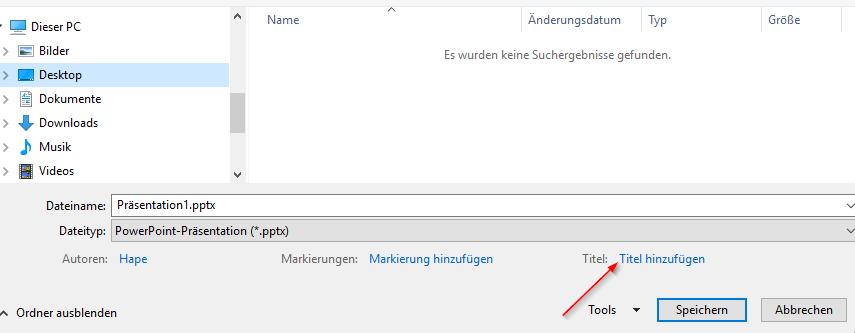 Microsoft Powerpoint: Titel der Präsentation anlegen oder ändern: So gehts! Teil 2: Titel hinzufügen