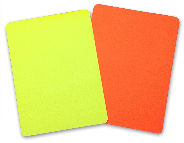 Rot Gelbe Karte