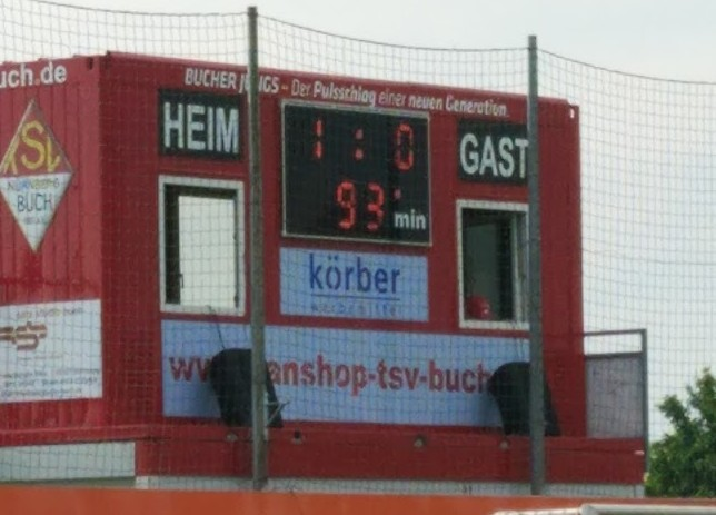 TSV Buch - TSV Waldkirchen: Endstand 1:0