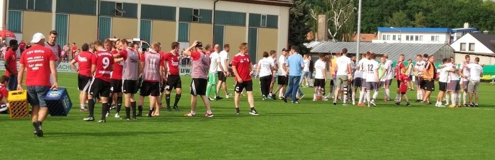 TSV Buch - TSV Waldkirchen: Die Bucher Jungs freuen sich über die Einzug ins Relegationsfinale gegen Vach
