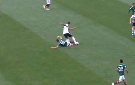 Der Ballverlust von Khedira leitet das 0:1 ein