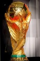 Der begehrte WM Pokal